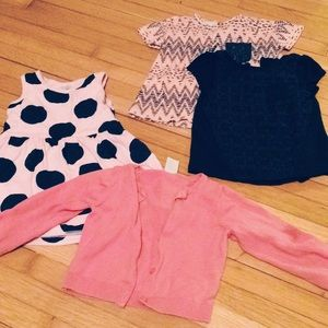 Other - Pink&Navy 12M Bundle